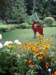 a sculptor's magic garden