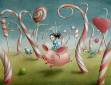 Candy-Forest-by-Nicoletta-Ceccoli