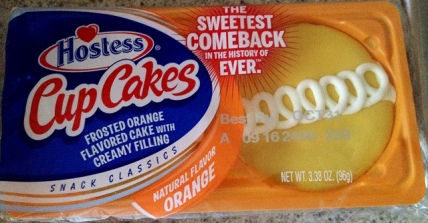 Hostess Orange Cupcakes