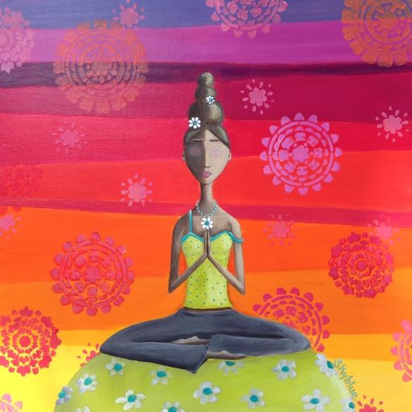Zen Girl Print Copy 1