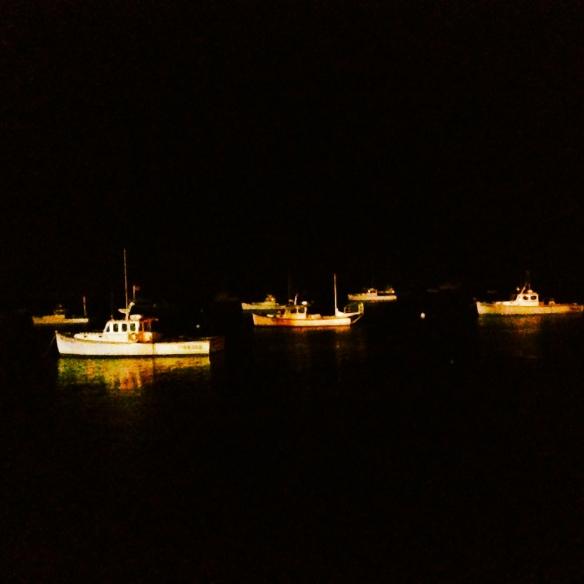 sleepy fishing boats